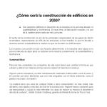Construcción 2030
