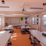 Salas de clases modulares: una de las innovaciones implementadas  por los recintos educacionales para enfrentar el Covid-19